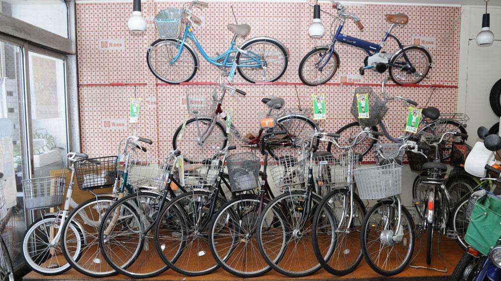 鶴岡市自転車販売
