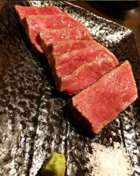 山形牛の赤身ステーキ